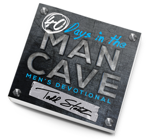 40 Days in the Man Cave - Todd Stahl