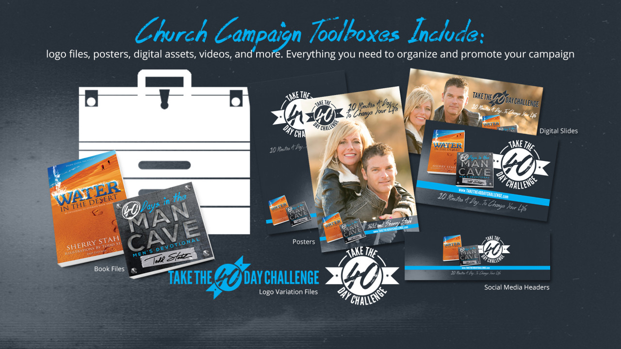 Church Campaign Toolboxes Include